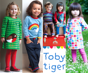Toby Tiger organic children clothes