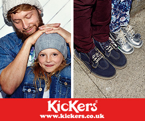 Kickers shoes for children and adults