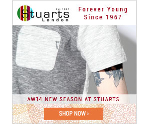 Stuarts London men's designer clothes