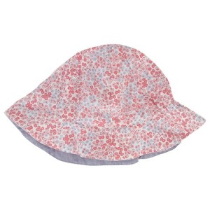Girls Ditsy Print Reversible Hat The Little White Company
