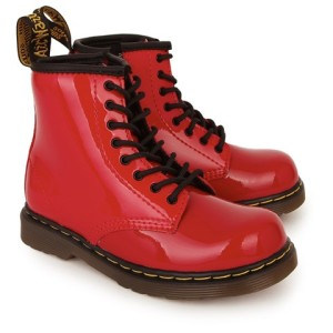 Dr Martens Brooklee Patent Lace Up Boots girls