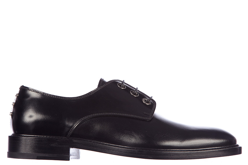 Givenchy Mens Leather Dress Shoes Oxford Shoes In Black Dress