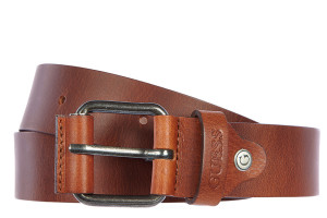Guess men's leather belt