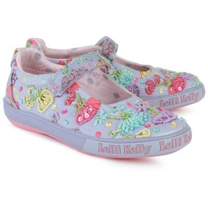 Lelli Kelly Fairy Canvas Mary Janes girls
