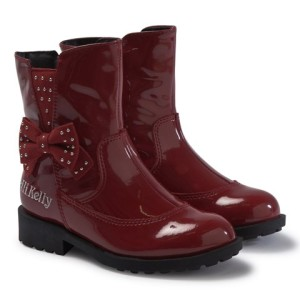 Lelli Kelly Pollie Red Patent Boots girls