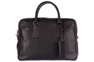 Prada mens briefcase laptop bag