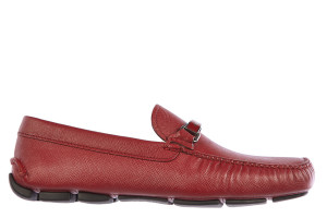 Prada slip-on shoes, moccasins men