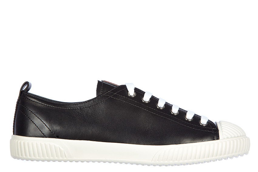 113ffff3c730 Prada Women s Leather Sneakers   Trainers in Black - Shoes