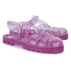 Project Jelly Raspberry Glitter Jelly Shoes girls