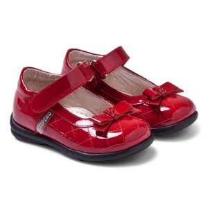 Step2wo Rania Red Patent Quilted Mary Janes girls
