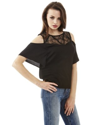 Top Cut-out Schultern Guess