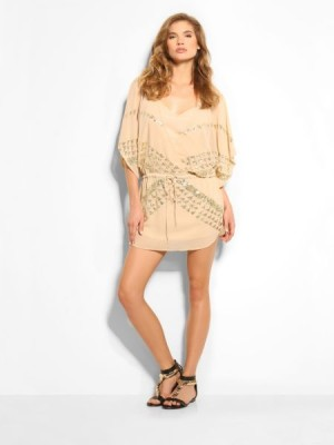 Cassia Embellished Kaftan Top Marciano Guess