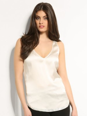Patty Stretch Silk Top Marciano Guess