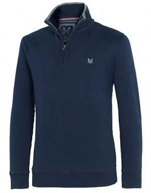 Crew Clothing Classic Half Zip Sweat