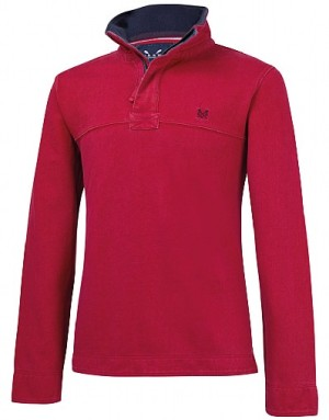 Crew Clothing Padstow Pique Sweat