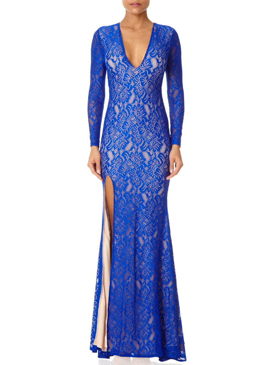 Womens Kelsie Maxi Long Sleeve Dress Forever Unique 2018 Cheap Price Sale For Nice tqAfYLmW