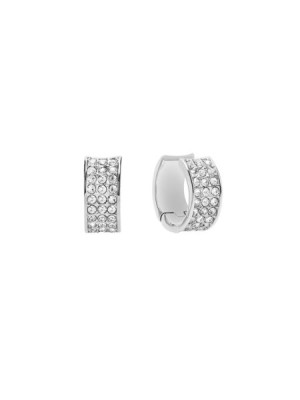 Guess G Rounds Pave Earrings women