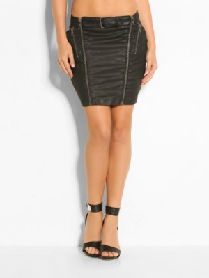 Guess Shanene Zip Skirt women
