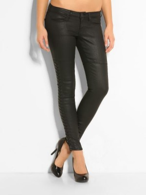 Guess women's jeans Jegging String Coated Denim Pant