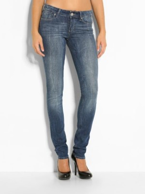 Guess women's jeans Skinny Mid Rise Clifton Denim Pant
