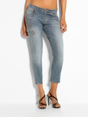 Guess women's jeans Vanille Embellished Denim Pant