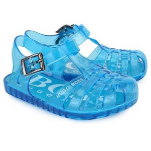Boys Boss Turquoise Jelly Sandals