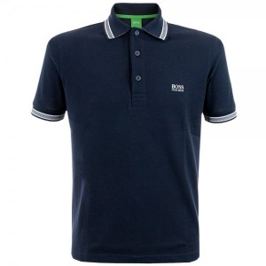 polo shirt men Hugo Boss Green Clothing