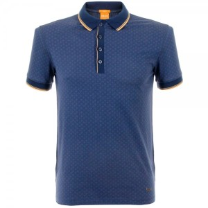 polo shirt men Hugo Boss Orange Clothing