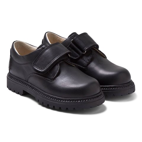 sale retailer separation shoes online for sale Step2wo Boys' Black Leather School Shoes in Black - Boys ...